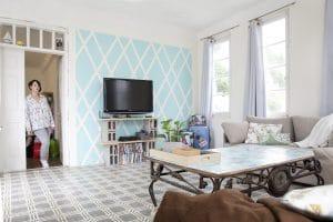 שובל גביש בדירה בביאליק 23 תל אביב