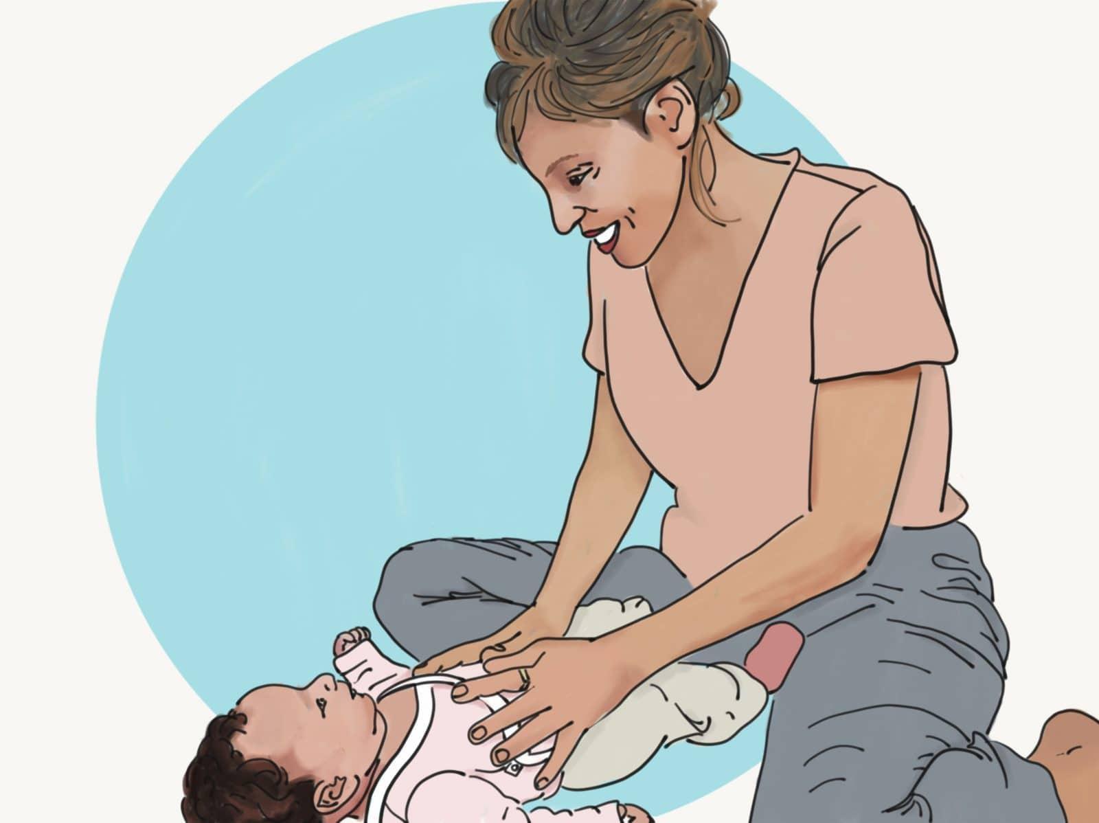 מה לעשות כשהתינוק שלך לא ישן טוב, לא רגוע ועצבני?